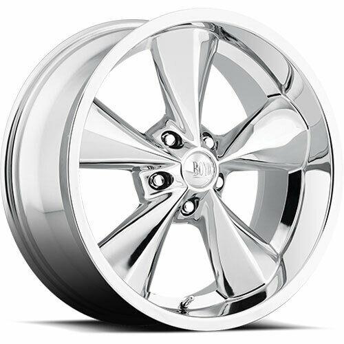 Boyd Coddington Custom Wheels BC1 Junkyard Dog Chrome Financing
